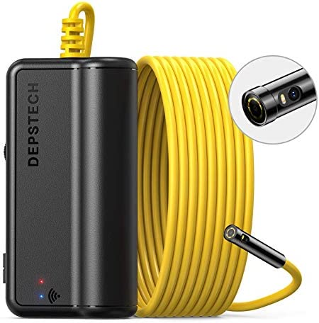 DEPSTECH Dual Lens Wireless Endoscope Camera 1080P Dual Borescope with 7 LED Lights 0 31In Lens product image