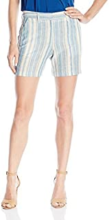 BCBGeneration Women's Boyfriend Multi Stripe Short