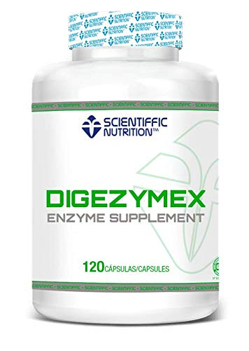 MST SCIENTIFFIC NUTRITION ENZIMAS DIGESTIVAS Digezymex 120 Cápsulas Digezyme®