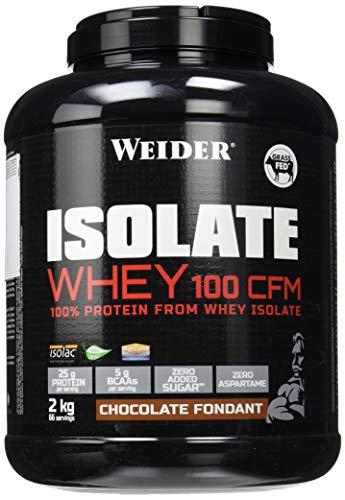 Weider Integratore Alimentare a Base di Proteine del Latte Isolate per Microfiltrazione a Flusso Incrociato (Cfm) con Enzimi Digestivi - 2 kg