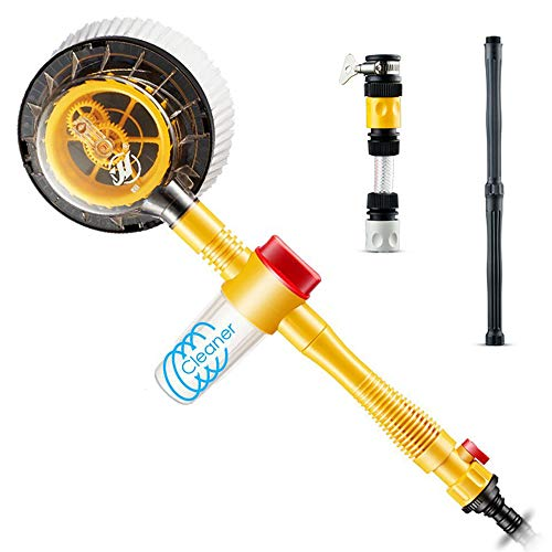 HSTYAIG Car Wash Brush, 360°Automatic Rotate Car Cleaning Brush for Car, Bike, RV or Home