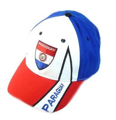 Fan Cap Paraguay NEU Kappe Fahne Flagge Basecap
