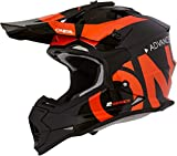 O'NEAL Oneal 2SRS Youth Helmet Slick Black/Orange L (53/54 cm) Helm, Erwachsene, Unisex