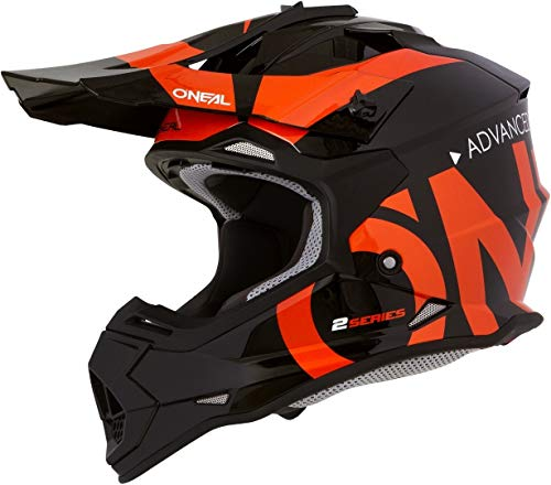 O'NEAL 2SRS Helmet Slick Black/orange M (57/58cm)