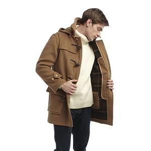 Original Montgomery Mens London Luxury Duffle Coat - (38, Camel)