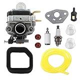 AISEN Carburetor for Troy-Bilt TB146EC 21AK146G866 Tiller Part 753-08174 Carb