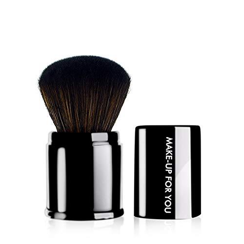TYJKL Brosse Multifonctions Maquillage Maquillage rétractable Outil Pinceau Fibre Pinceau Fond de Teint Maquillage de Visage Noir Outils De Maquillage Professionnels