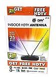 HDTV High Definition Digital Signal Indoor Top of TV Antenna 25 Mile Range