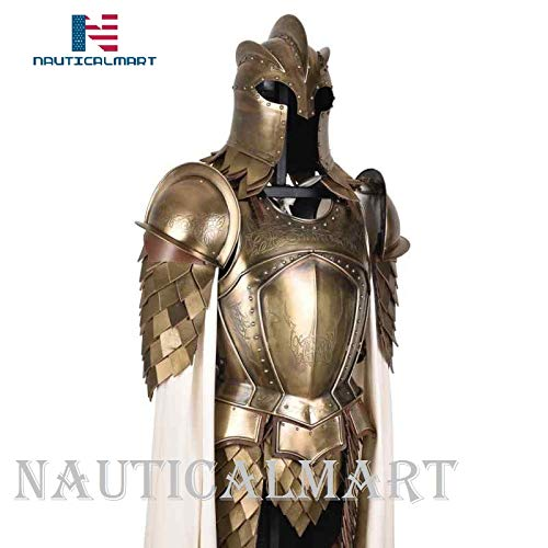 NauticalMart Medieval Kingsguard Armour Set with Display Stand Halloween Knight Suit Armor