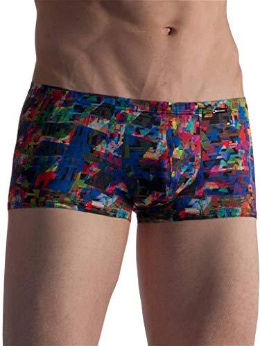 Preisvergleich Produktbild Olaf Benz Limeted Edition Serie RED1860 Underwear Mosaic Print - Made in Germany (XXL,  Minipants)
