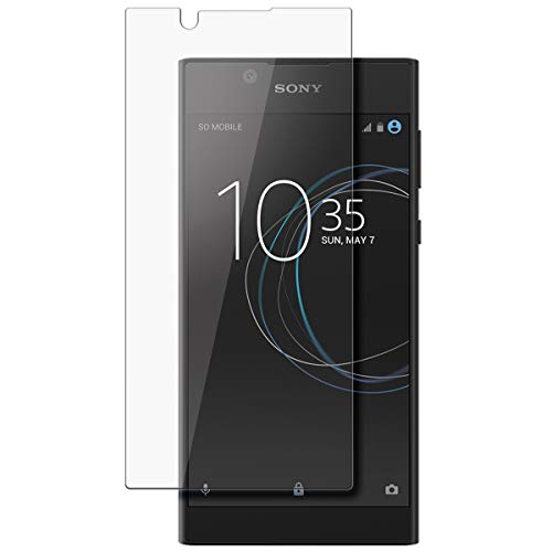 disGuard Schutzfolie für Sony Xperia L1 [2 Stück] Kristall-Klar, Bildschirmschutzfolie, Glasfolie, Panzerglas-Folie, Bildschirmschutz, extrem Kratzfest, Schutz vor Kratzer, transparent