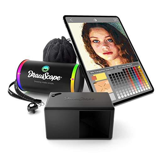 DrawScope - Proyector para artistas | Un dispositivo óptico y una APP para aprender a pintar como un profesional.