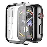 Recata Transparente PC Coque Compatible avec Apple Watch Serie 6 Se Series 5 Série 4 40mm,...