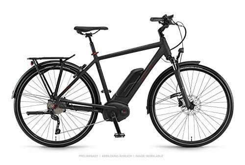 Winora Tria 10 500 Pedelec E-Bike Trekking Fahrrad schwarz 2019: Größe: 60cm