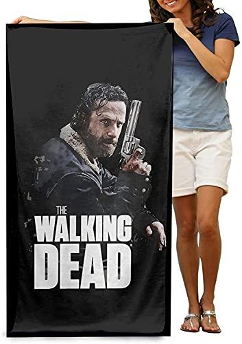 The Walking Dead - Toalla de playa de The Walking Dead, toalla multiusos de secado rápido, diseño moderno, multiusos (XSZR-5, 75 cm x 150 cm)