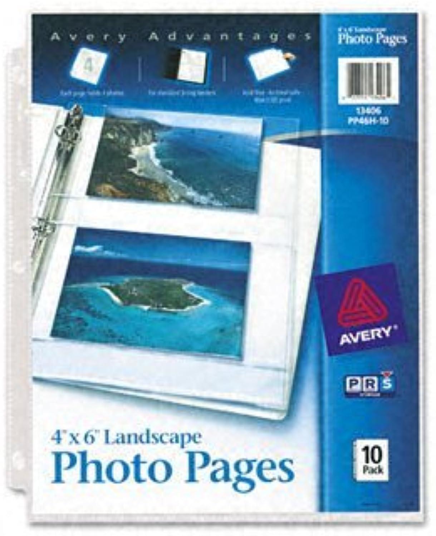 Foto Seiten für vier 4 x 6 Horizontal Fotos 3-Loch 3-Loch 3-Loch gelocht (10 Pack) [Set von 3] B00T1P33BI    Neuer Stil  4b0e7b
