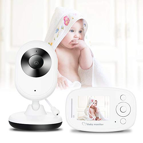 Monitor de bebé, nuevo monitor de bebé de la cámara inalámbrica interior de la cámara infrarroja de la visión nocturna del monitor