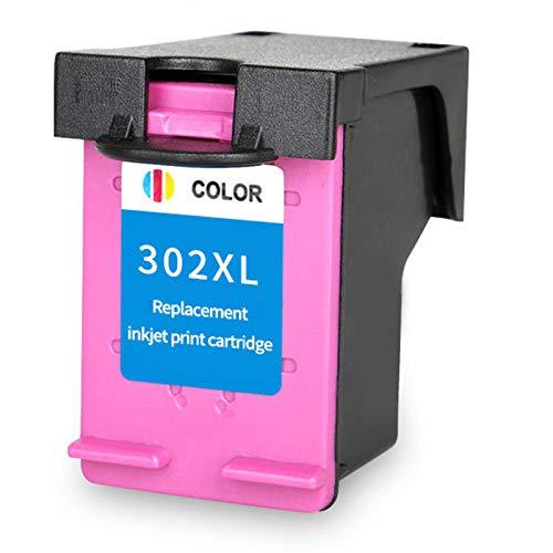 Cartucho de tinta 302XL, repuesto para impresora HP Deskjet 1110 1112 2130 2131 2132 2133 3634 3632 4513 4516 4517 4520 de alto rendimiento tinta negra tricolor 1 tricolor 1 tricolor