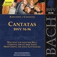 Bach: Cantatas, BWV 94-96 (Edition Bachakademie Vol 30) /Rilling by Johann Sebastian Bach (1999-10-19)
