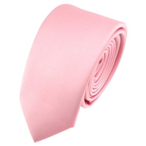 TigerTie - corbata estrecha - rosa oscuro monocromo