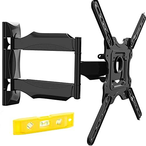 Invision TV Wandhalterung für 24-60 Zoll Bildschirme VESA 100x100 bis 400x400mm Schwenkbare Neigbare und Ausfahren für LED, OLED, Flach & Curved Wandhalter Fernsehers - Max Last 36.2 kg (HDTV-E)
