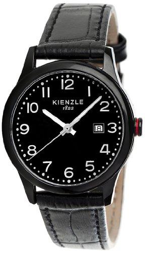 Kienzle K3043043131-00377 - Orologio da polso uomo, pelle, colore: nero