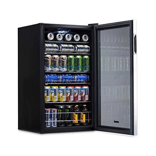 NewAir AB-1200 126-Can Beverage Cooler, Cools to 34 Degrees