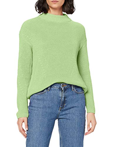 Street One Damen 301407 Pullover, Sunny Lime, 38