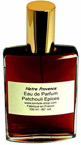 Eau de parfum Patchouli Epices 100 ml