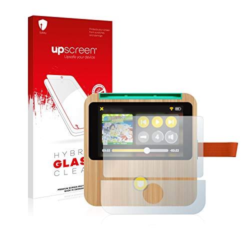 upscreen Hybrid Glass Panzerglas Schutzfolie kompatibel mit tigerbox Touch 9H Panzerglas-Folie