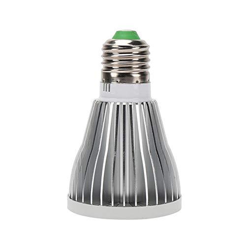 TZTED 12W Pflanzenlampe LED Lighting Pflanzenlicht Wachstumslampe Tageslicht Pflanze Sämling Licht Wachsen Zelt Glühbirne Pflanzenlichter E27 E14 GU10,12W,E14