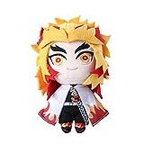 Anime Demon Slayer Figure Rengoku Plush Doll 7.8