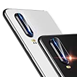 EasyULT Pellicola Fotocamera per Huawei P30 [2 Pezzi], Vetro Temperato Fotocamera Posteriore Trasparente Pellicola Protettiva Vetro Lente della Fotocamera