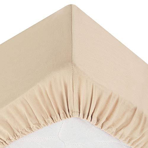 Drap housse lin 140x190cm