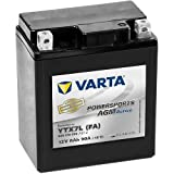 Bateria Moto YTX7L-BS VARTA AGM Active 12V 6 AH 90 A. Vida útil 3 veces más larga.