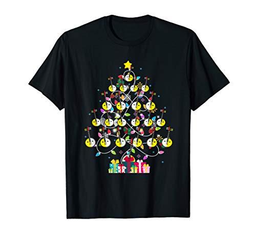 Banjo Christmas Ornament Tree Banjo Lover Xmas Gift T-Shirt
