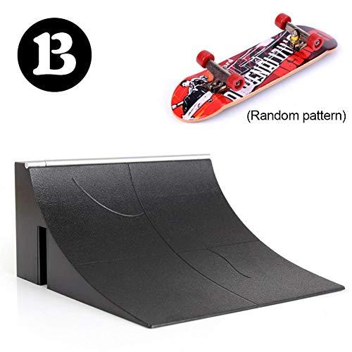 Mini Fingerspielzeug Skateboard Skatepark Rampensatz Primitive Pro Modell Griffbrett Mit 1 Finger Skateboard Rampenteile Für Finger Skateboard Ultimate Parks Training Requisiten