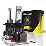 CAR ROVER Lampadine H7 LED 12000LM Fari Abbaglianti o Anabbaglianti o Fendinebbia per 12V Automobili, 60W, 6000K Bianco
