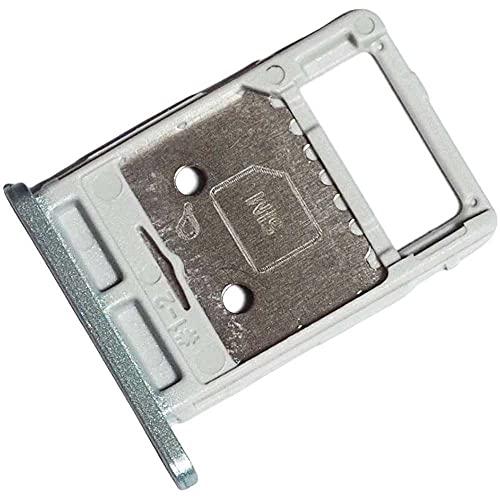 Bandeja Tarjeta SIM y Soporte Memoria Micro-SD para Samsung Galaxy Tab S7 FE, Repuesto Original, Verde