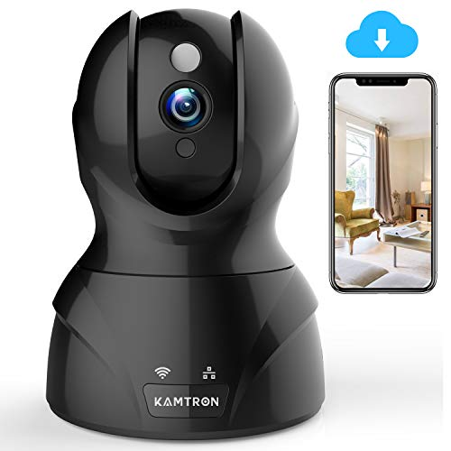 KAMTRON Wireless Security Camera with Two-Way Audio