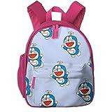 Doraemon - Mochila escolar para niños, rosa (Rosa) - Pink-48