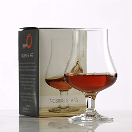 Duitsland Stölzle Lausitz Classical Retro Crystal Whisky Nosing glas drank Spirits Whisky Tasting Goblet Cognac Brandy snifters (Capacity : 194ml, Color : Nosing Glass)