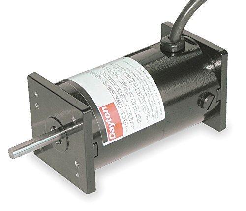 Permanent Magnet DC TENV Motor 1/27 HP 1800 RPM 90 Volts DC Dayton Electric Model 3XE22 by Dayton