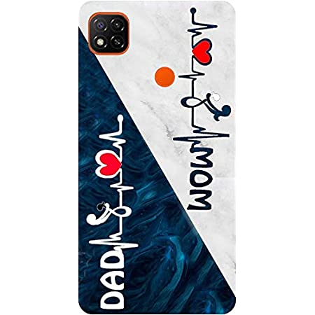 amagav printed soft silicone designer pouch mobile back cover for redmi 9 & xiaomi redmi 9c case and covers | for boys & girls - design308 - Red