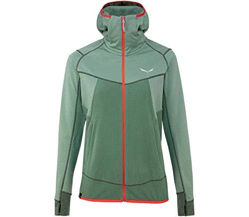 Salewa 00-0000027389_5075 Hoodies Femme, Feldspar Green Mel, FR : XS (Taille Fabricant : 40/34)