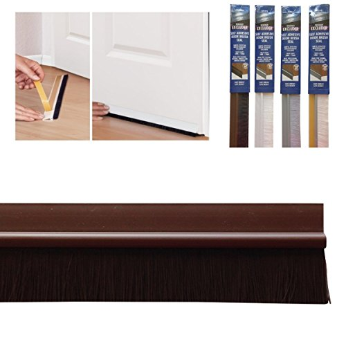 Bottom Door Seal with Colour Matching Brush Self Adhesive