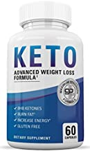 Ultimate Keto Diet Pills - Keto BHB Supplement to Burn Fat Fast - Keto Slim Advanced Weight Loss Pills for Women and Men - Exogenous Ketones - Boost Energy and Metabolism - 60 Ketogenic Supplements