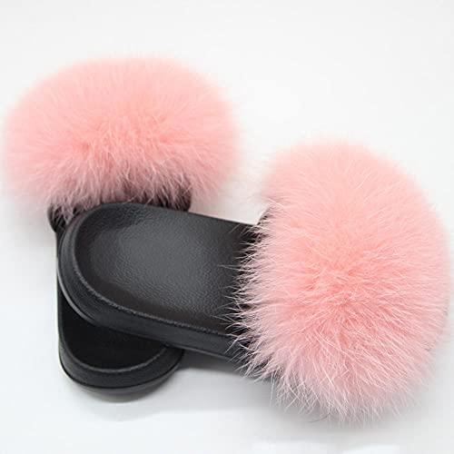 Zuecos Cross Mujer,Zapatillas de Piel de Piel Anti-Cuero, Zapatos de Lavado de Pieles, Lentes con Damas PVC de la Palabra Drag, Zapatos de natación de playa-40/41_mi