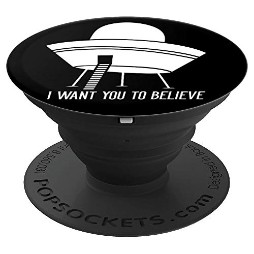 I Want You To Believe UFO Disc Spaceship and Space Aliens