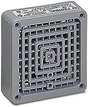 Federal Signal 350-120-30 Vibratone Horn, 120VAC, 0.18 AC, Gray